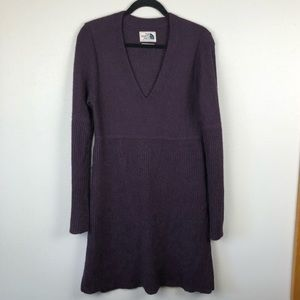 North Face sweater dress Alpaca wool blend large